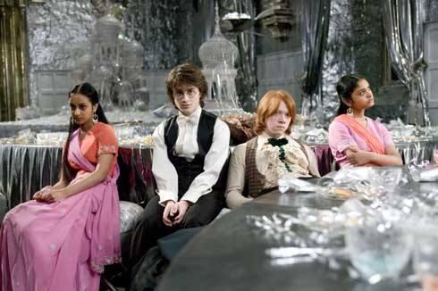 Daniel Radcliffe, Rupert Grint, Afshan Azad, Harry Potter a Ohnivý pohár