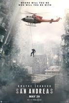 Plakát k traileru: San Andreas - anglicky
