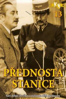 Plakát k filmu: Přednosta stanice