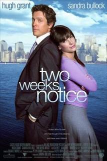 Láska s výstrahou  - Two Weeks Notice