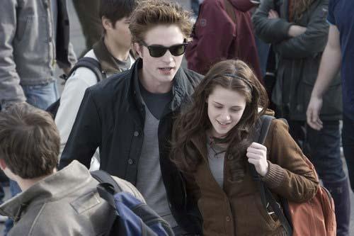 Stmívání, Robert Pattinson, Kristen Stewart
