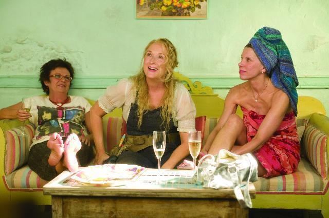 Mamma Mia!, Meryl Streep, Julie Walters, Christine Baranski