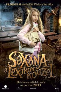 Plakát k filmu: Saxána a Lexikon kouzel