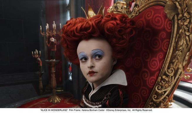 Alenka v říši divů, Helena Bonham Carter