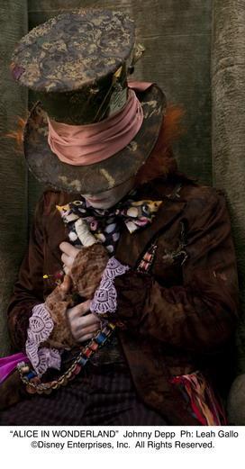 Alenka v říši divů, Johnny Depp