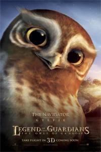 Plakát k filmu: Legenda o sovích strážcích 3D