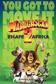Plakát k filmu: Madagaskar 2: Útěk do Afriky