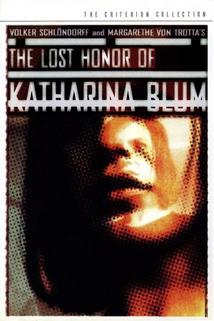 Plakát k filmu: Ztracená čest Kateřiny Blumové