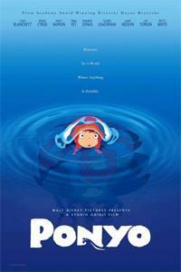 Plakát k filmu: Ponyo z útesu nad mořem