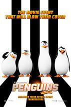 Plakát k premiéře: Tučňáci z Madagaskaru