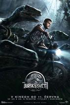 Plakát k traileru: Návrat obřích dinosaurů v Jurském světě
