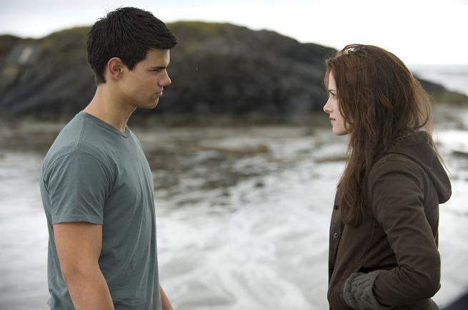 Nový Měsíc, Kristen Stewart, Taylor Lautner