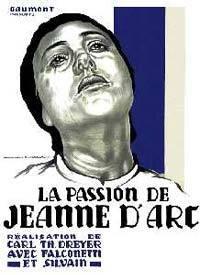 Plakát k filmu: Utrpení Panny orleánské