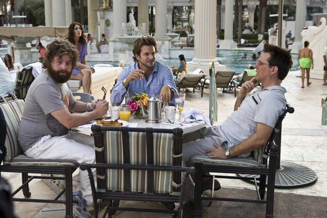 Hangover, The, Zach Galifianakis, Bradley Cooper, Ed Helms