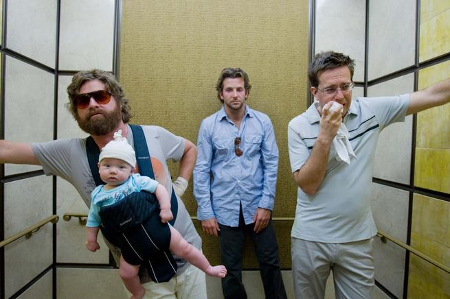 Hangover, The, Bradley Cooper, Ed Helms, Zach Galifianakis