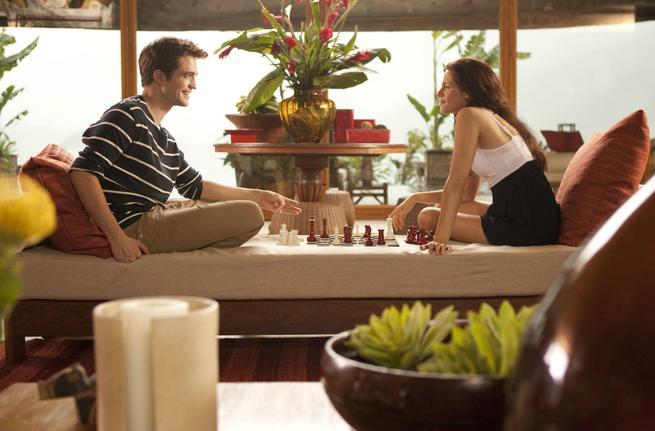 Twilight Saga: Breaking Dawn - Part 1, The, Robert Pattinson, Kristen Stewart