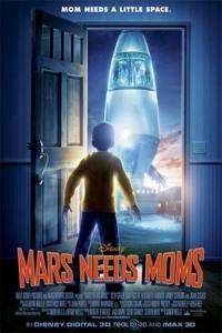 Plakát k filmu: Máma mezi Marťany
