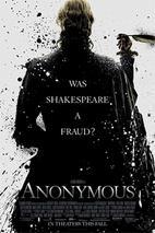 Plakát k traileru: Anonym - anglický trailer