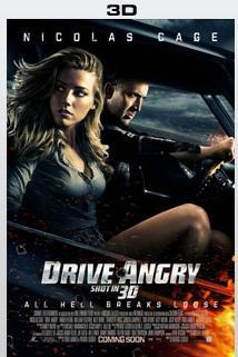 Plakát k filmu: Drive Angry 3D