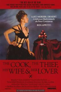 Plakát k filmu: Kuchař, zloděj, jeho žena a její milenec