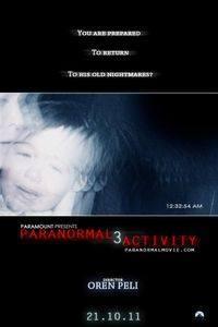 Plakát k filmu: Paranormal Activity 3