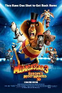 Plakát k filmu: Madagaskar 3