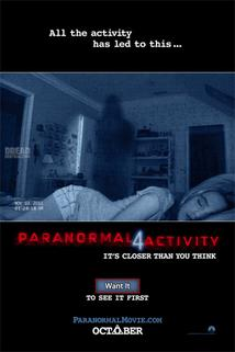 Plakát k filmu: Paranormal Activity 4