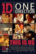 Plakát k filmu: One Direction: This is Us