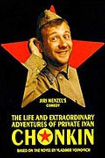 Plakát k filmu: Život a neobyčejná dobrodružství vojáka Ivana Čonkina