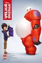 Plakát k premiéře: Velká šestka 3D