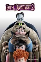 Plakát k filmu: Hotel Transylvánie 2