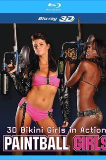 3D Bikini Girls in Action: Paintball Girls