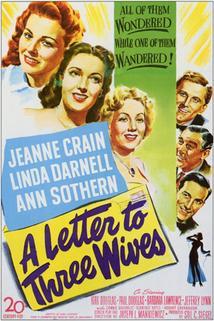 Dopis třem manželkám  - Letter to Three Wives, A