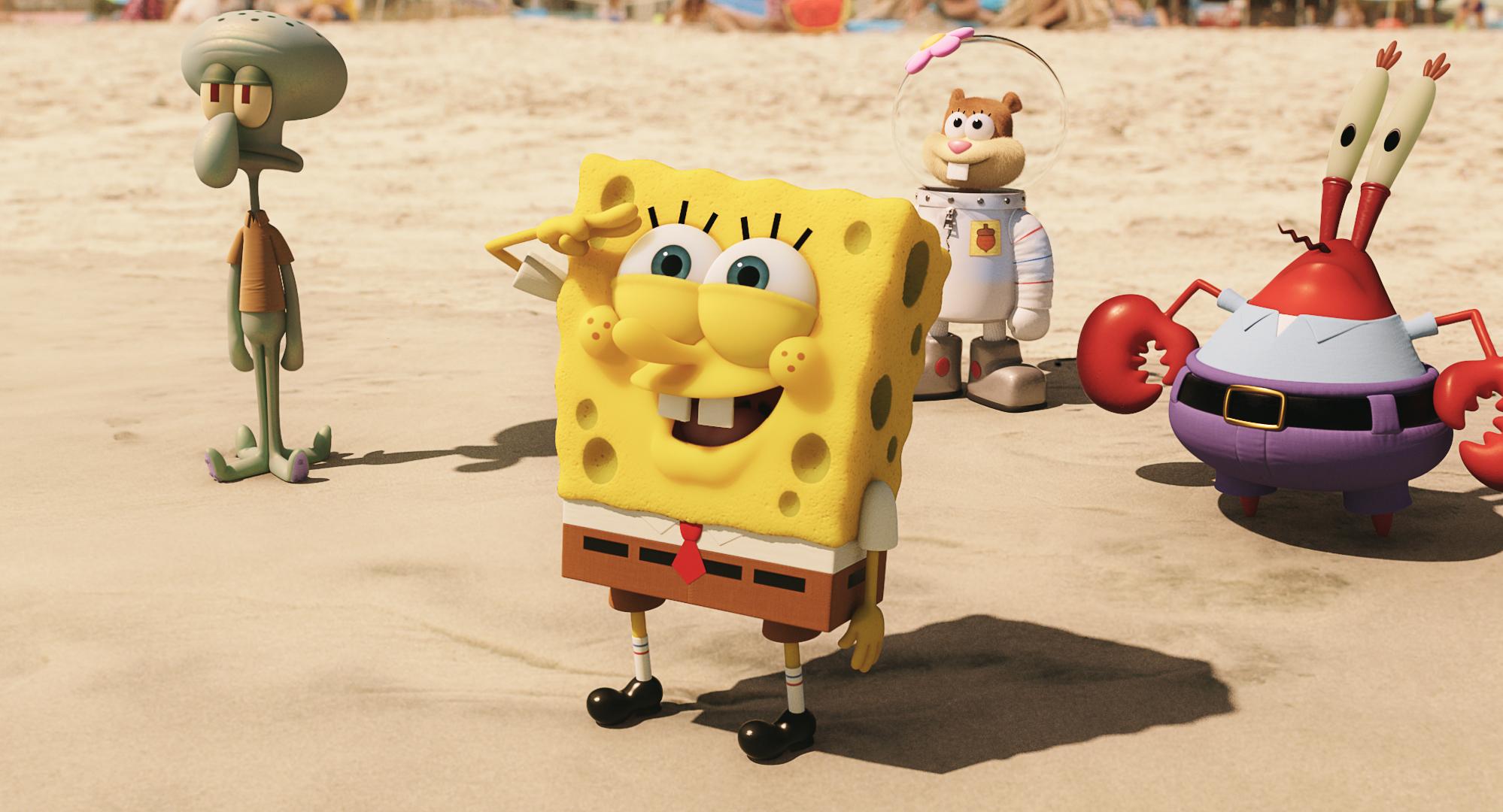 SpongeBob ve filmu: Houba na suchu