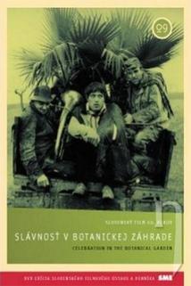 Plakát k filmu: Slávnosť v botanickej záhrade