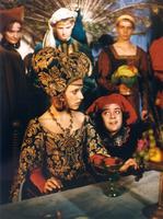 O třech rytířích, krásné paní a lněné kytli