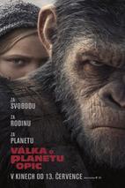 Plakát k filmu: Válka o planetu opic