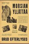 Morsian yllättää (1941)