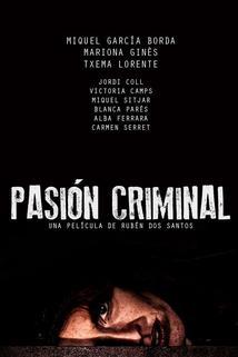 Pasión criminal  - Pasión criminal