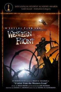 A Letter from the Western Front