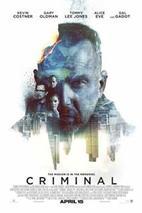 Plakát k filmu: Criminal ()