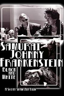 Samurai Johnny Frankenstein Black and White