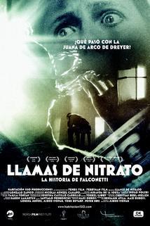 Llamas de Nitrato