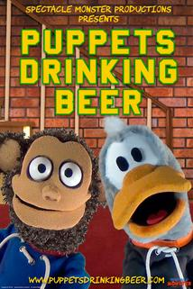 Puppets Drinking Beer