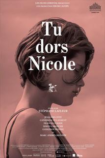 Nicole, ty spíš