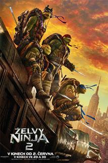 Plakát k filmu: Želvy Ninja 2