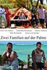 Zwei Familien auf der Palme