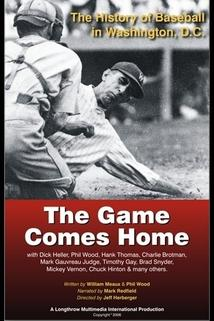 The Game Comes Home: The History of Baseball in Washington, D.C.