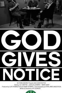 God Gives Notice