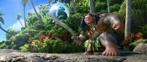 Odvážná Vaiana: Legenda o konci světa 3D